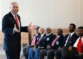 Retired U.S. Army Lt. Gen. Michael Rochelle Speaks at Tuskegee Airmen Anniversary Event
